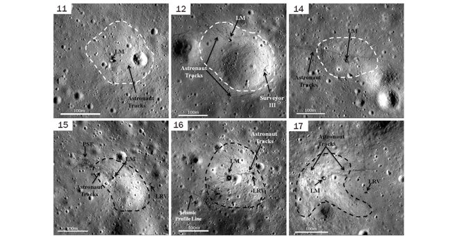 from space moon landing sites - photo #17