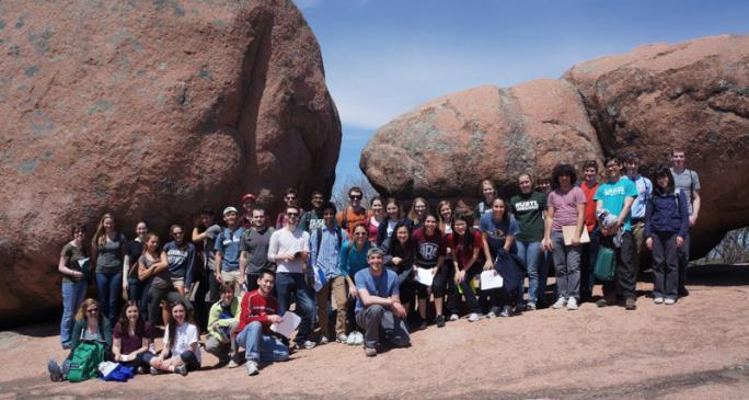 EPSc 201 - Earth and the Environment, at Elephant Rocks State Park