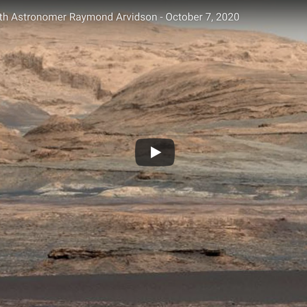 Exploring Mars with Ray Arvidson