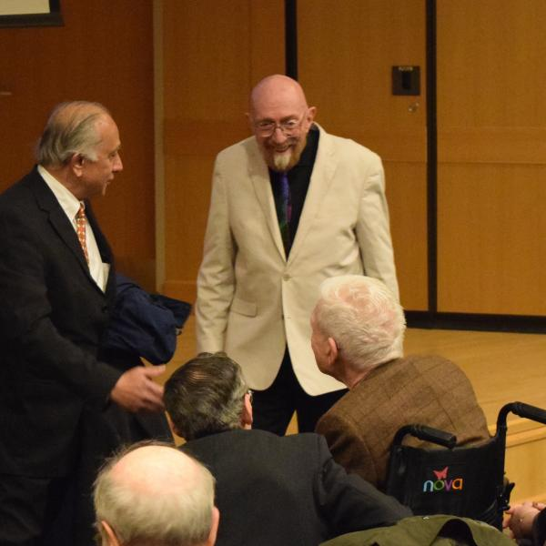 Recording of Kip Thorne's Nov 7 lecture now available