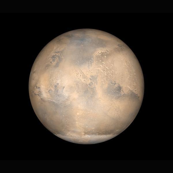 Forbes: Martian blues: Did planet's size affect its ability to hold onto water?