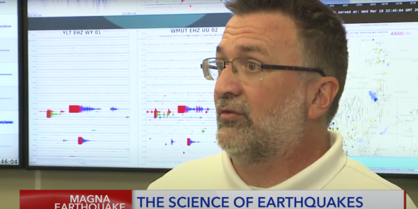 Keith Koper on the news describing the science of earthquakes